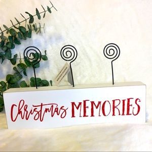 Christmas Memories Picture Display